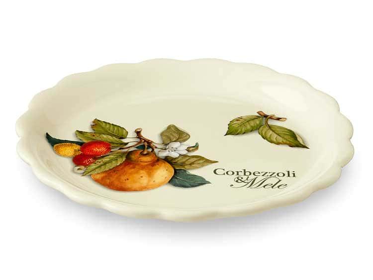 Тарелка Груша Nuova Cer 21 см (2 шт)