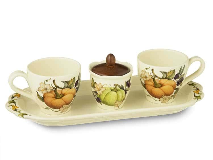Чайный набор Тыква Nuova Cer 5 предметов