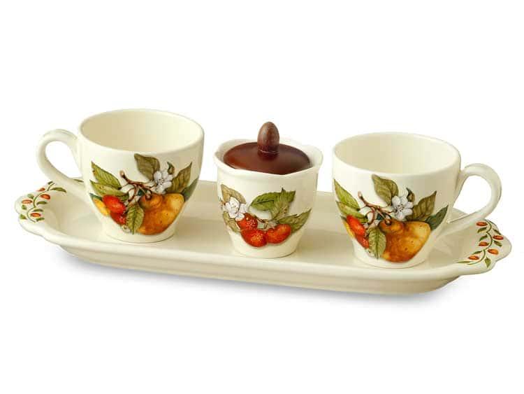 Чайный набор Груша Nuova Cer 5 предметов