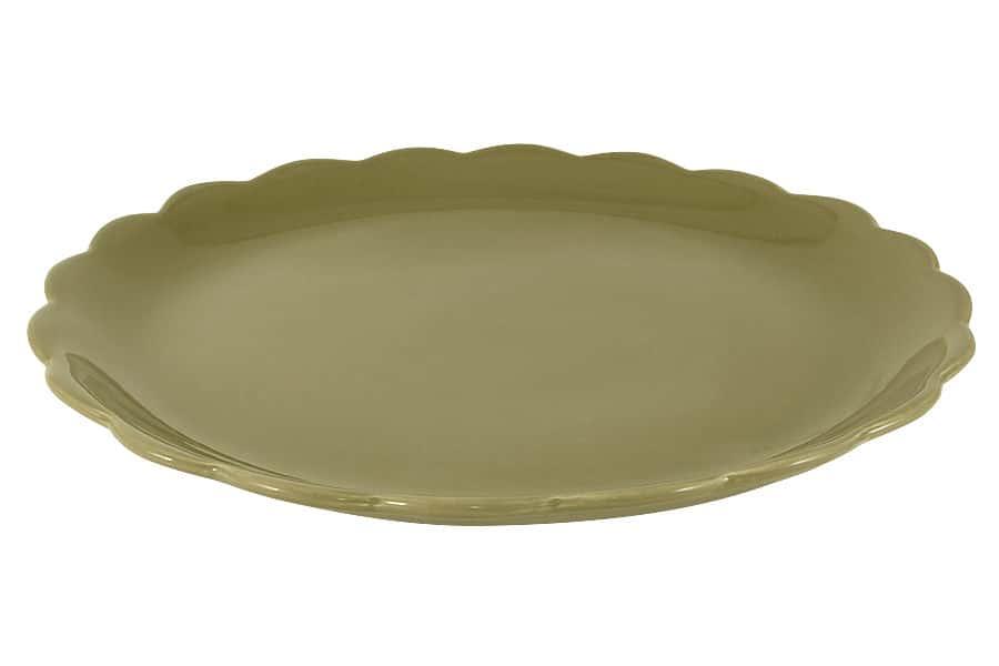 Тарелка подстановочная Тыква Nuova Cer 32.5 см