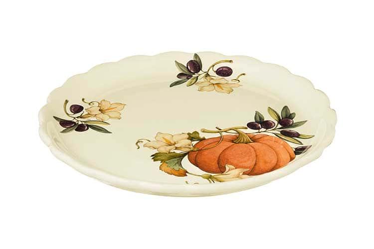 Тарелка обеденная Тыква Nuova Cer 26.5 см