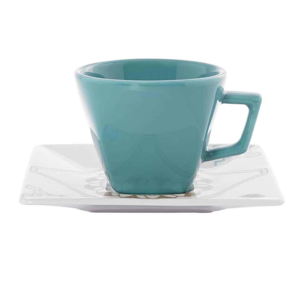 Чайная пара 200 мл (чашка + блюдце) Oxford россыпь