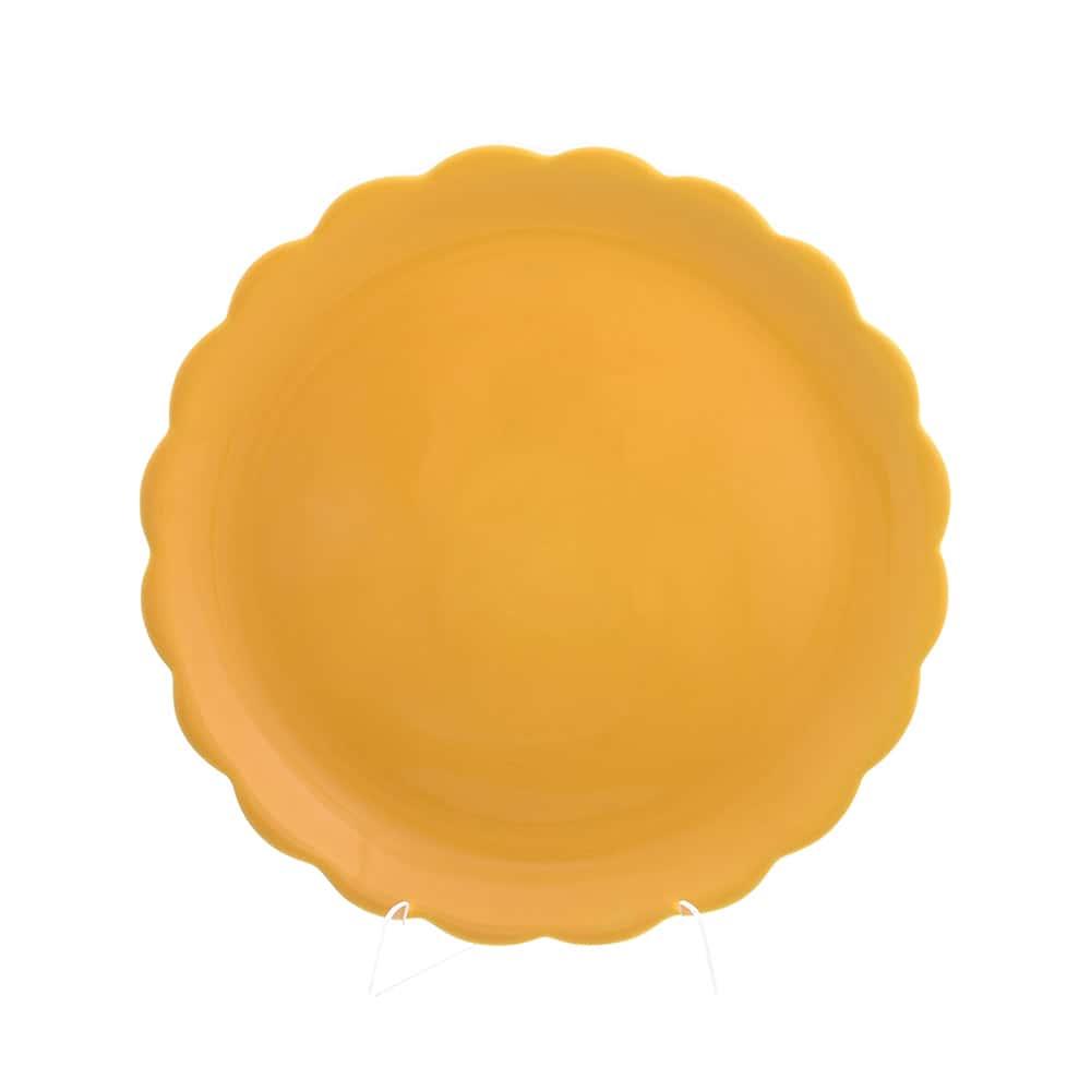 Блюдо круглое 32,5см Лимоны Caroline Artigianato (2шт)