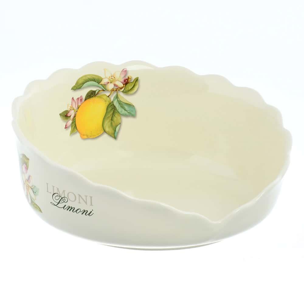 Подставка под тарелки 26см Лимоны artigianato ceramico