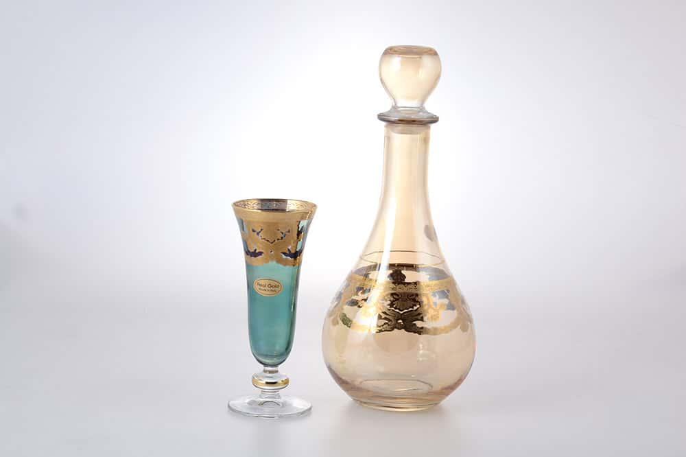 Набор питьевой Art Decor Veneziano Color Sofia 7 предметов