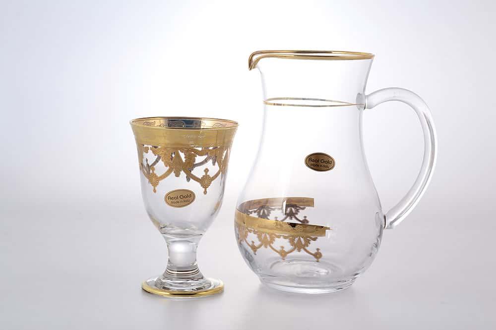 Набор для сока Art Decor прозрачный 7 предметов