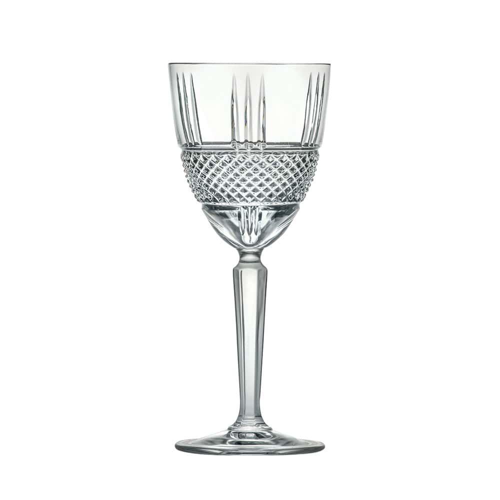 Набор бокалов для вина 250мл Brillante Cristalleria Italiana(6 шт)