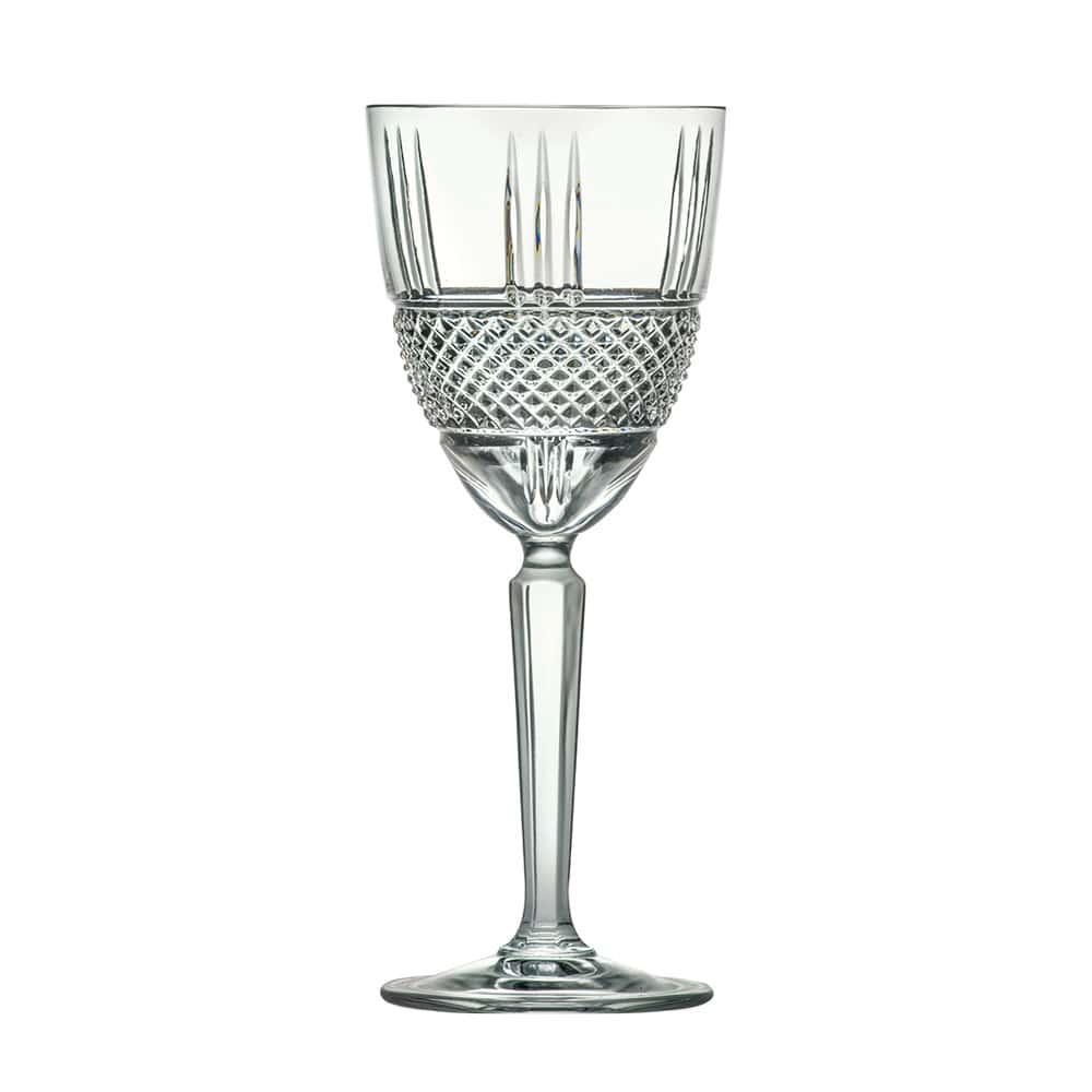 Набор бокалов для вина 290мл Brillante Cristalleria Italiana(6 шт)