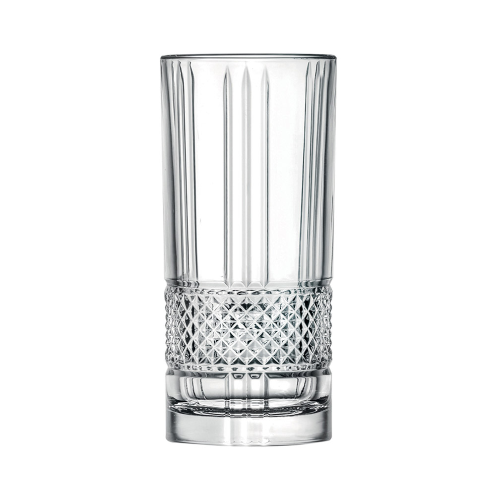 Набор стаканов для воды 360мл Brillante Cristalleria Italiana(6 шт)