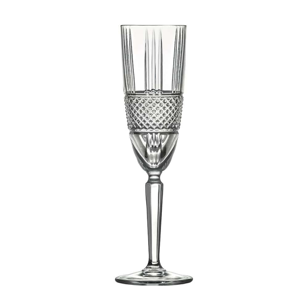 Набор фужеров для шампанского 190 мл Brillante RCR (6 шт)