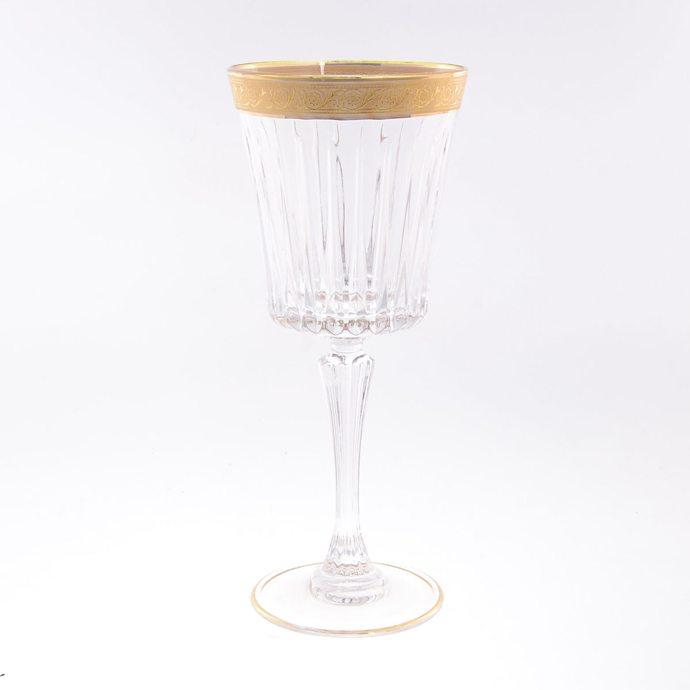 Набор фужеров для вина 300 мл Timeless RCR золото