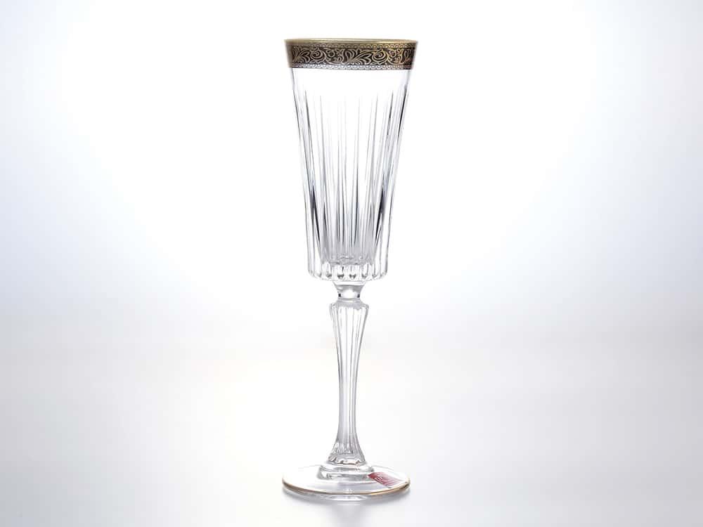 Набор фужеров для шампанского 210 мл RCR Timeless узор