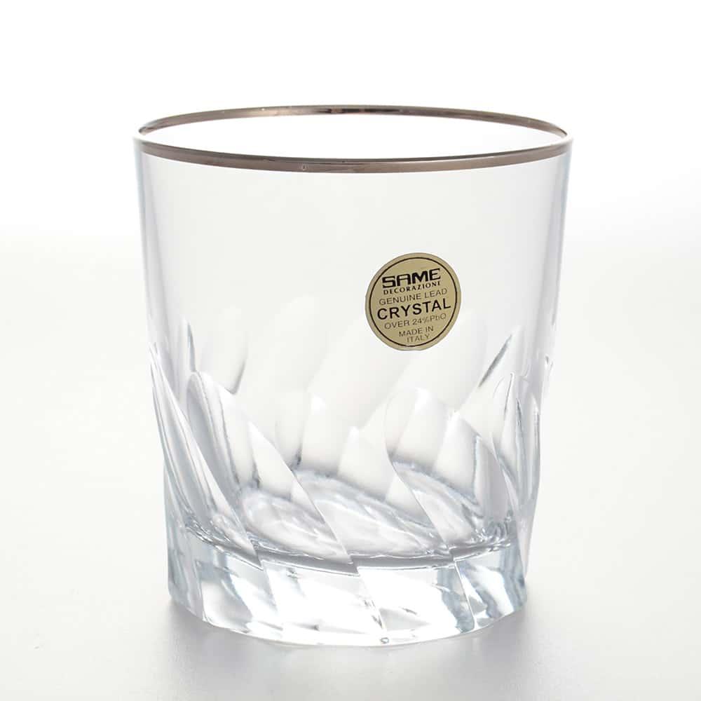 Набор стаканов для виски 300 мл Палермо платина Same Decorazione