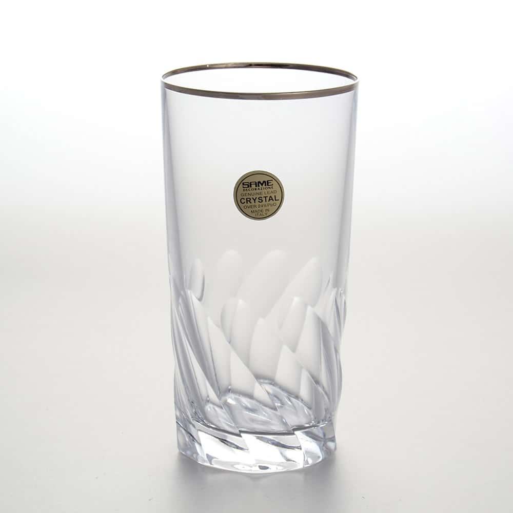 Набор стаканов для воды 350 мл Палермо платина Same Decorazione