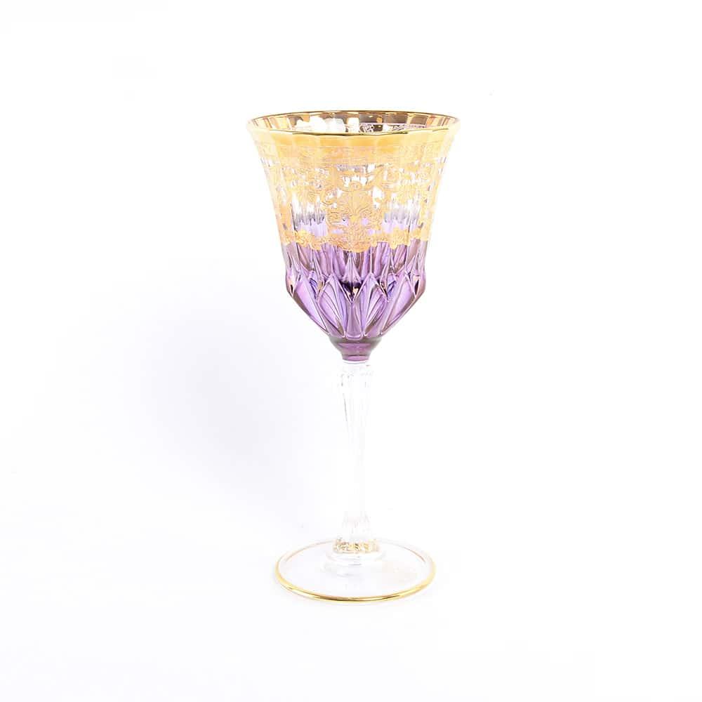 Набор бокалов для вина TIMON сиреневый