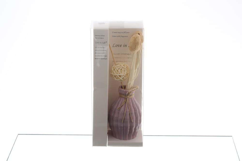 Ваза для цветов Royal Classics фиолетовая