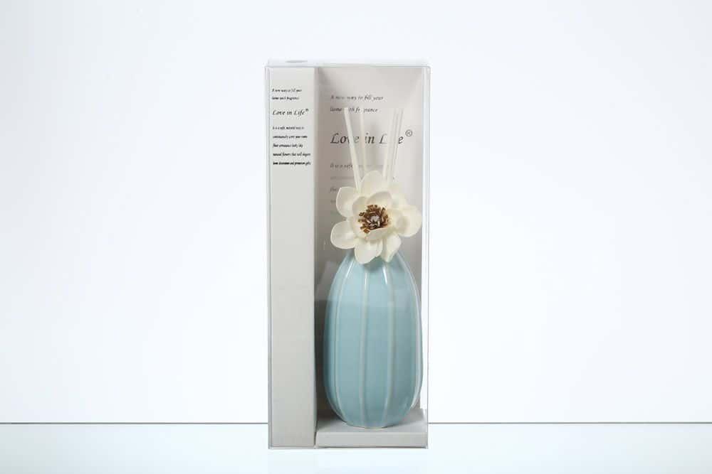 Ваза для цветов Royal Classics голубая