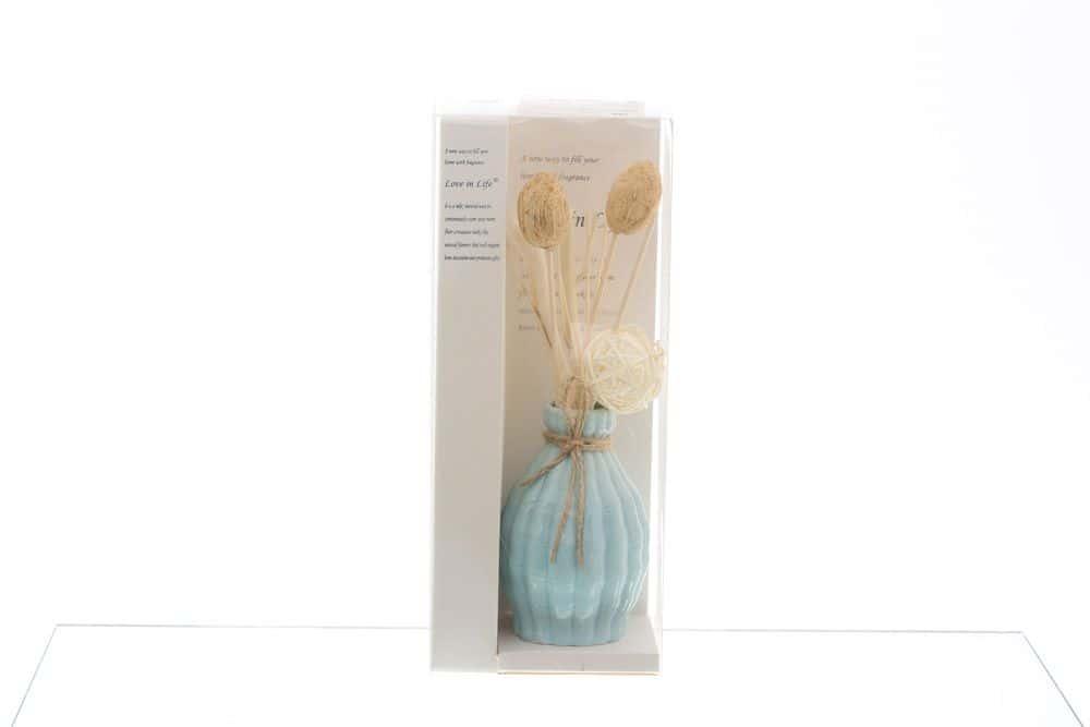Ваза для цветов Royal Classics голубая 35494