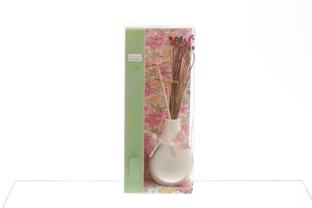 Ваза для цветов Royal Classics розовые бабочки