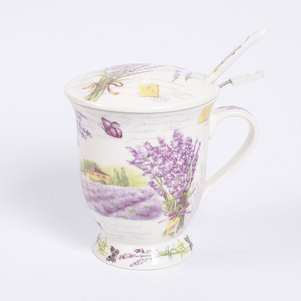 Набор для чая Лаванда Royal Classics 4 предмета