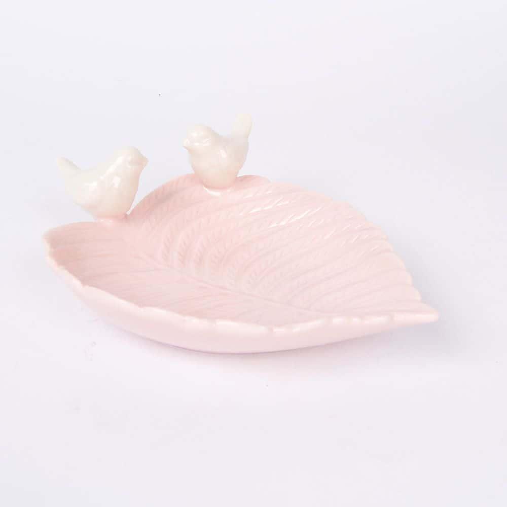 Блюдо лист Royal Classics розовый 39242
