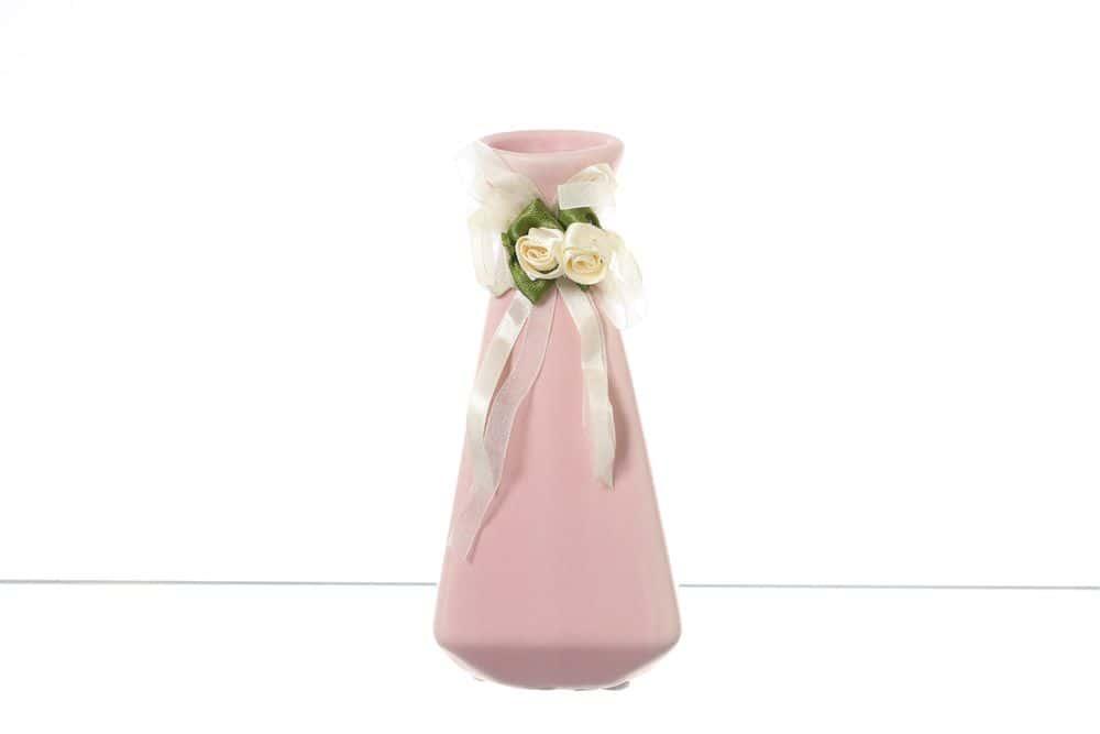 Ваза для цветов 16 см Royal Classics розовая