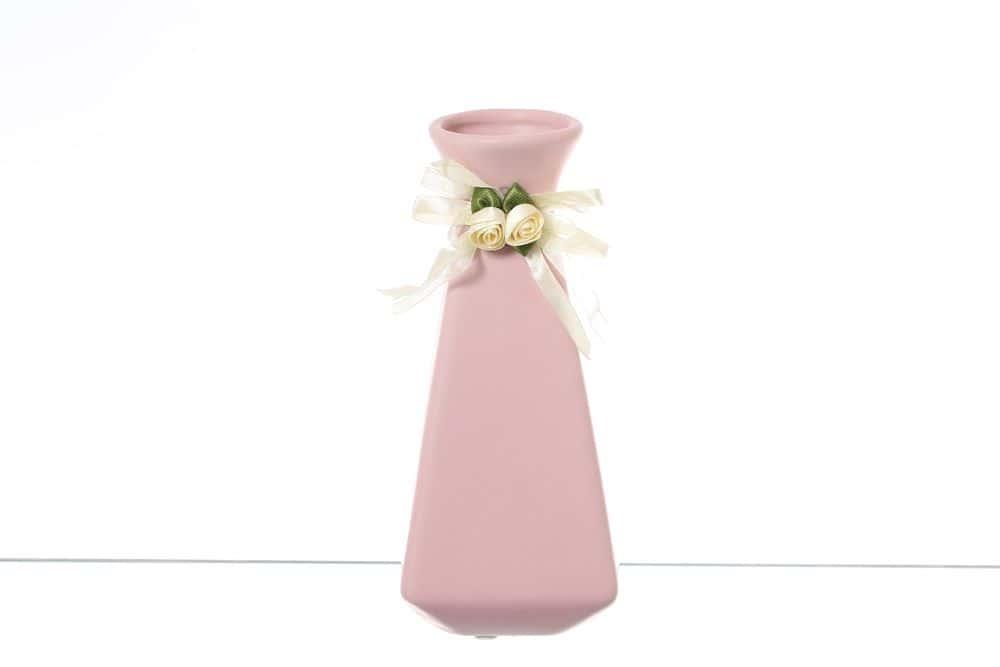 Ваза для цветов 20 см Royal Classics розовая