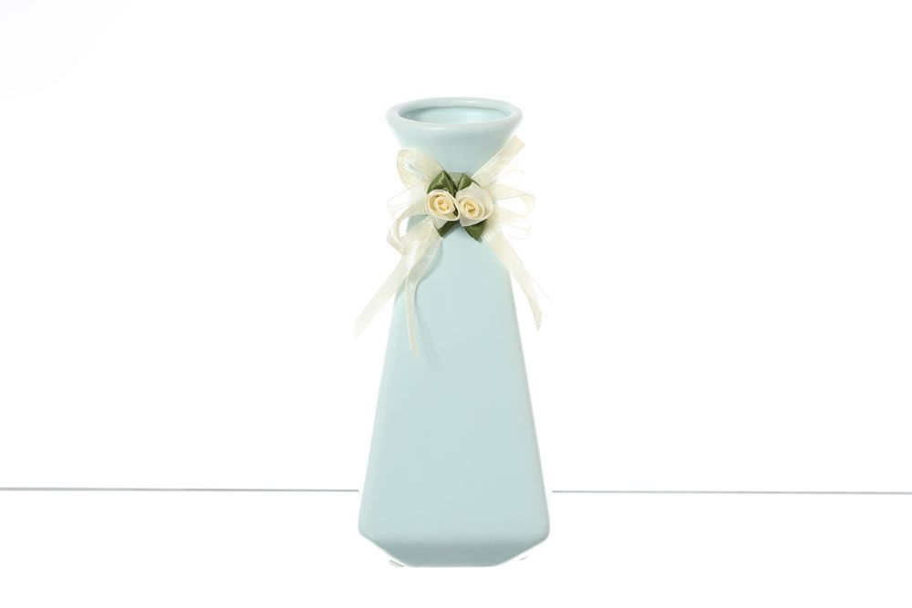 Ваза для цветов 20 см Royal Classics голубая