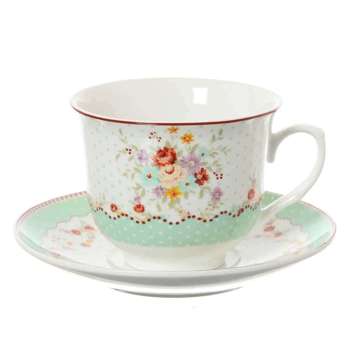 Набор чайных пар 220мл Royal Classics (6 шт)