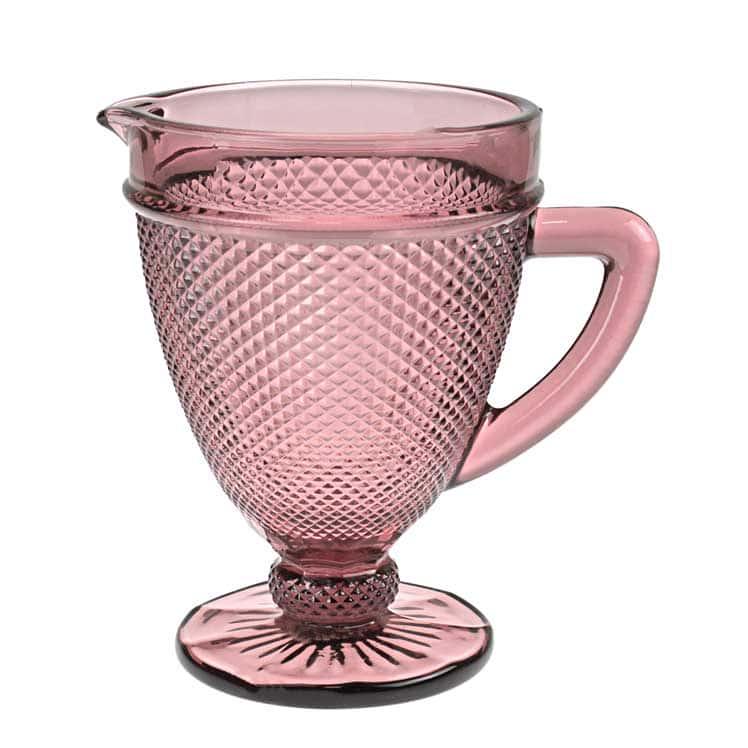Графин розовый Royal Classics на ножке