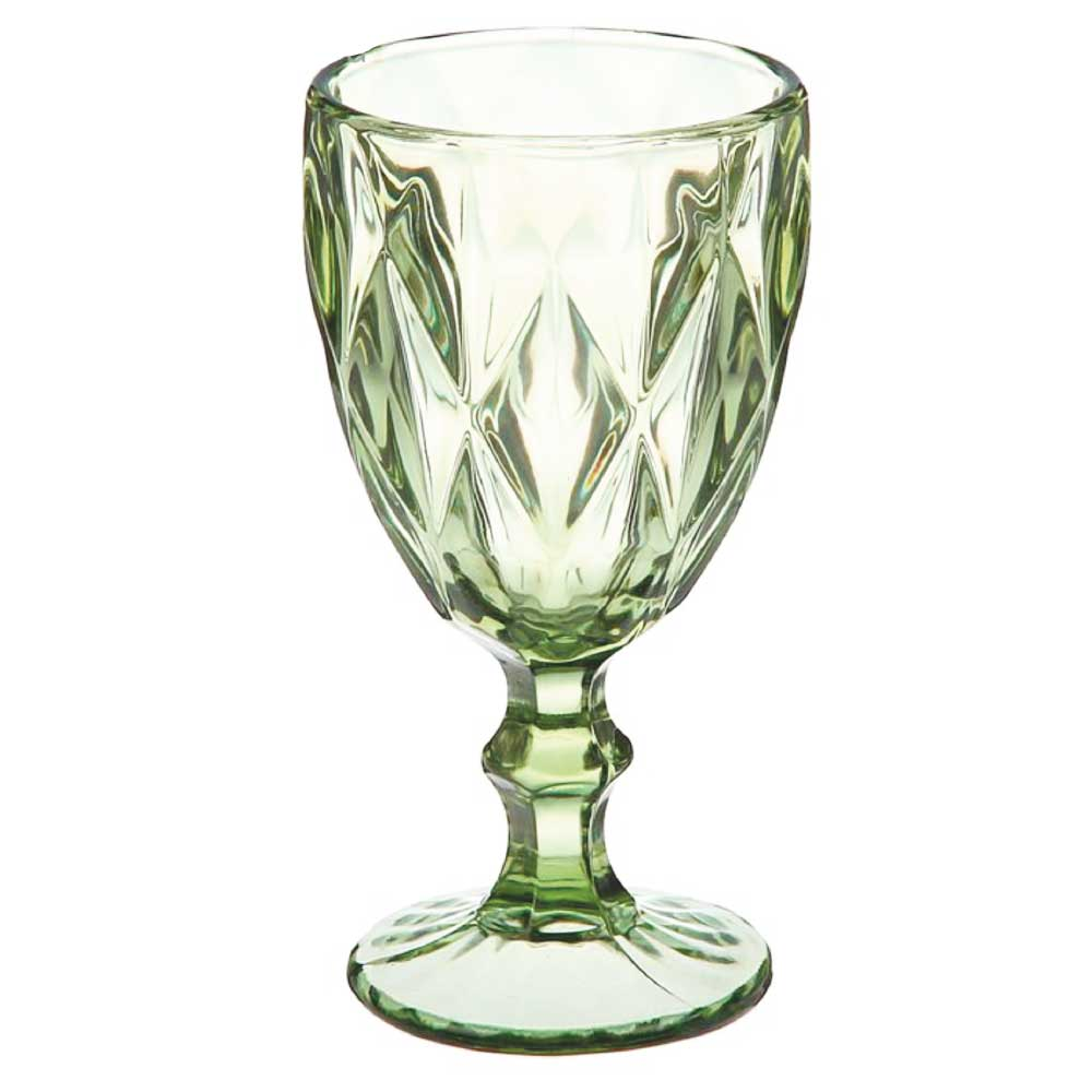 Набор бокалов для вина Royal Classics зеленый 6 шт.