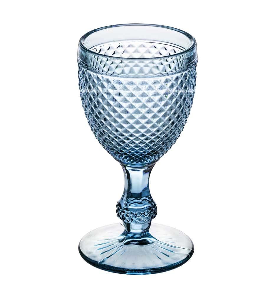Набор бокалов для вина синий Royal Classics 6 шт.
