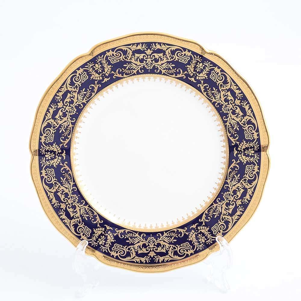 Набор тарелок 21см Clarice Cobalt Gold Prouna (6 шт)