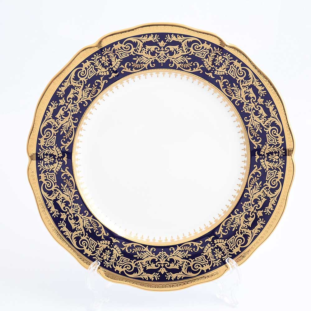 Набор тарелок 27см Clarice Cobalt Gold Prouna (6 шт)