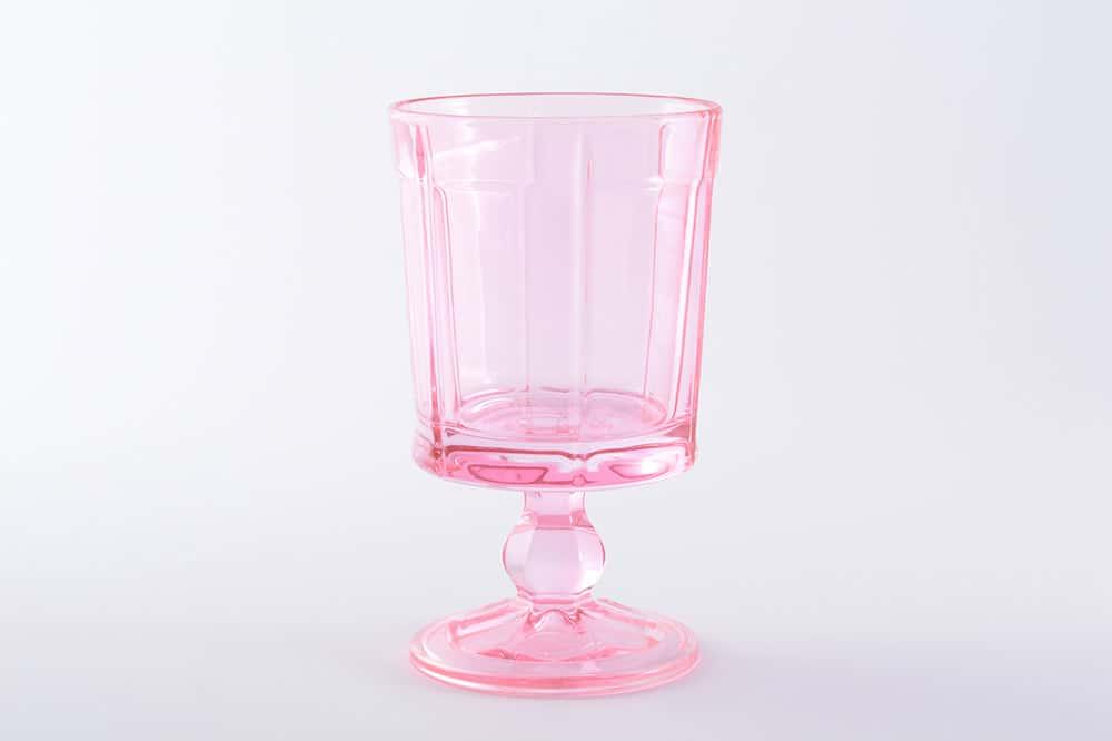 Набор стаканов 300 мл на ножке IRENA HOLDING розовая