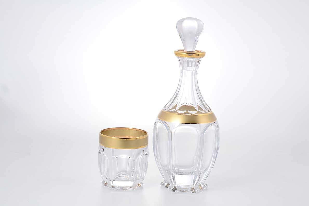 Набор для виски Сафари Bohemia Gold 7 предметов