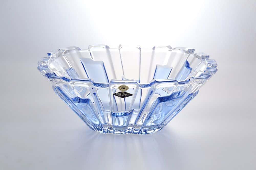Фруктовница 31 см Болеро BLUE PANELS BOHEMIA TREASURY