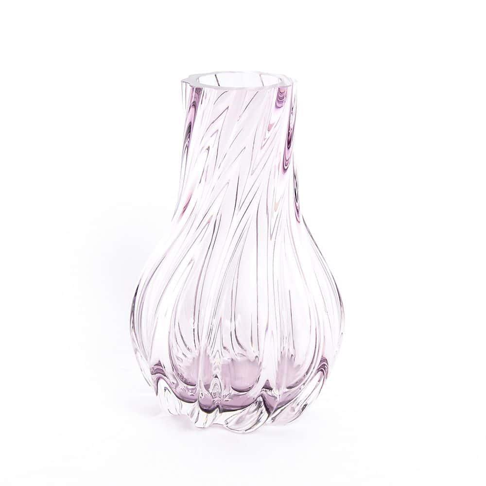 Ваза для цветов 25 см Egermann фиолетовая 40303