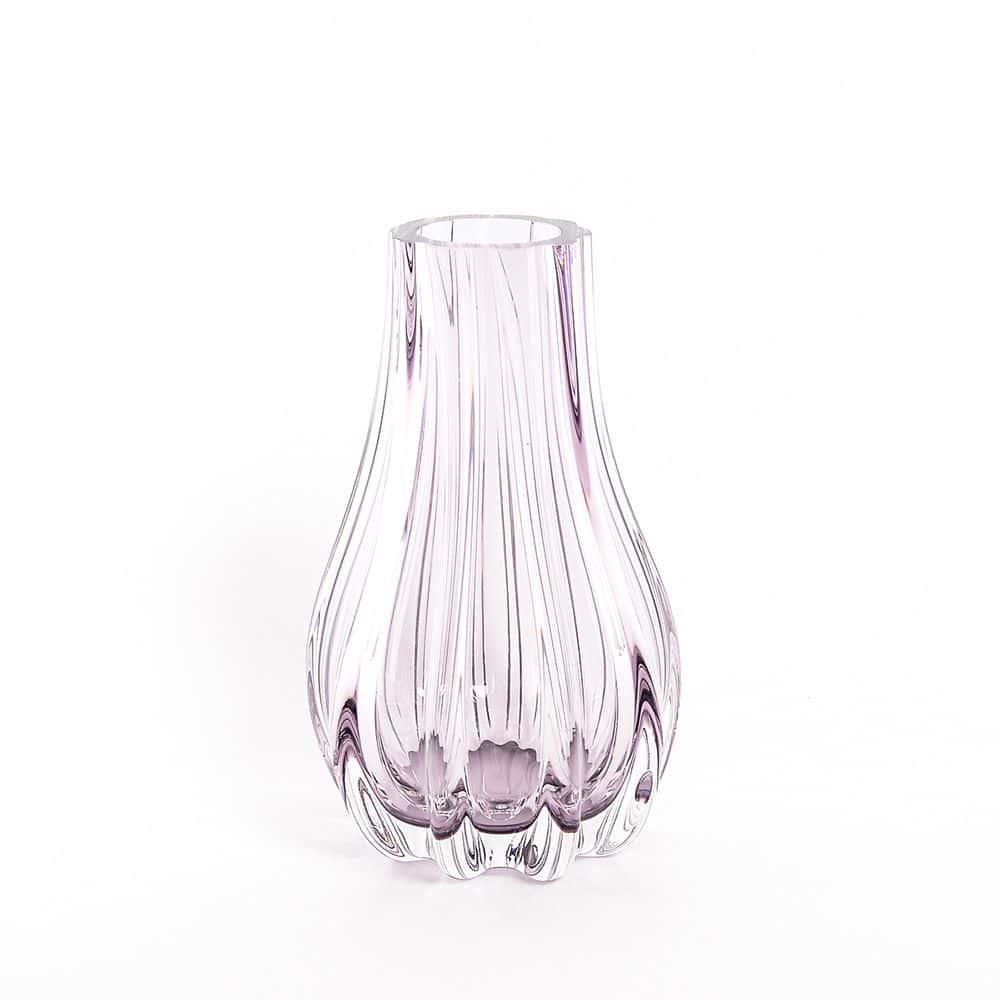Ваза для цветов 25 см Egermann фиолетовая 40306