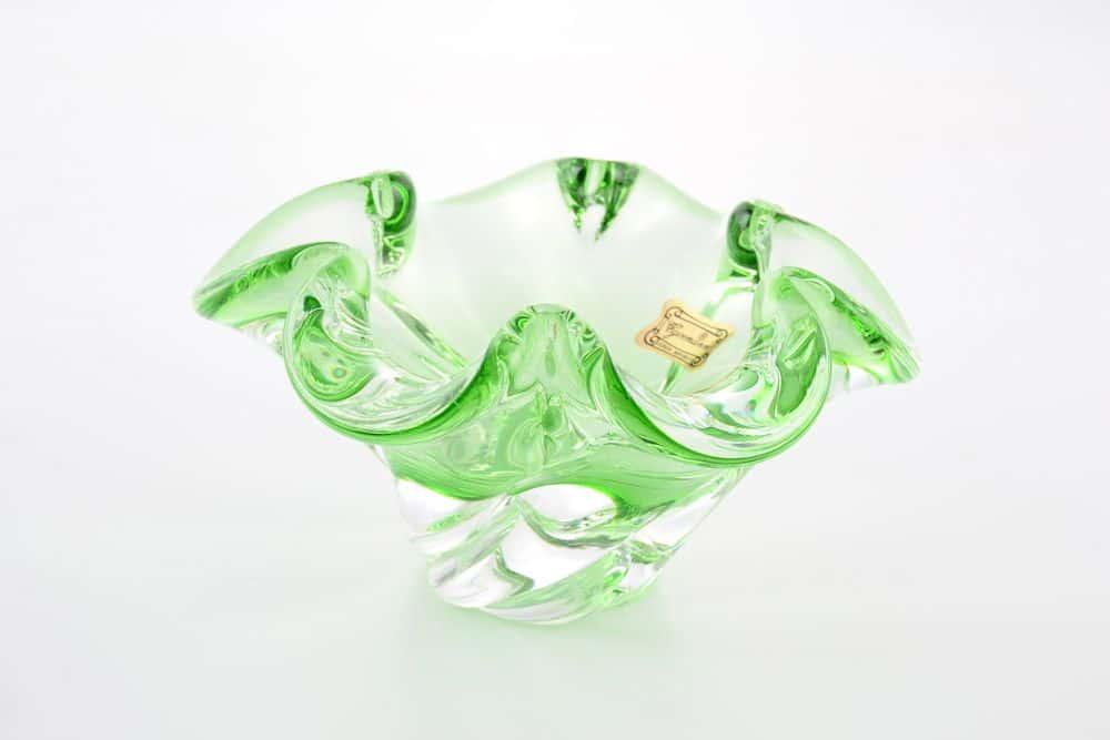 Конфетница 12 см Egermann зеленая