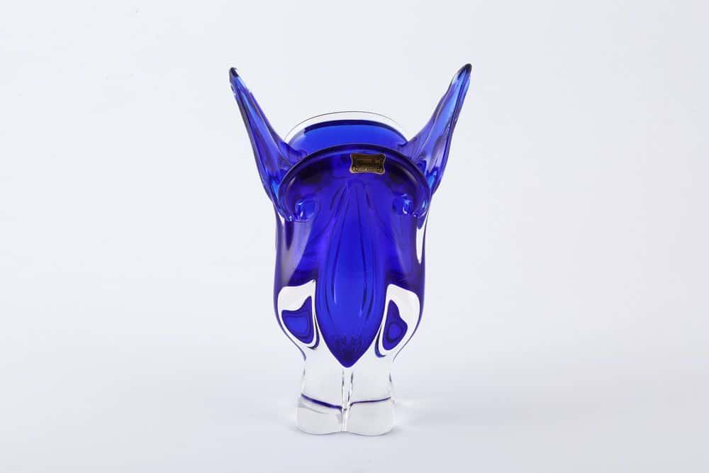 Ваза для цветов 23 см Egermann синяя