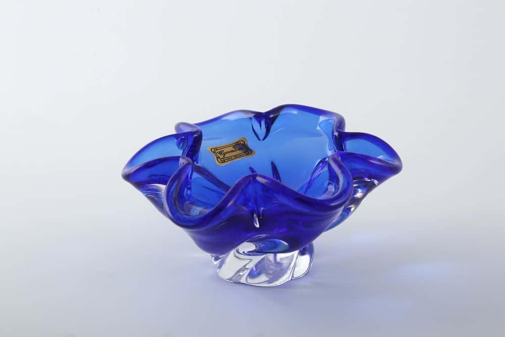 Конфетница 12 см Egermann синяя