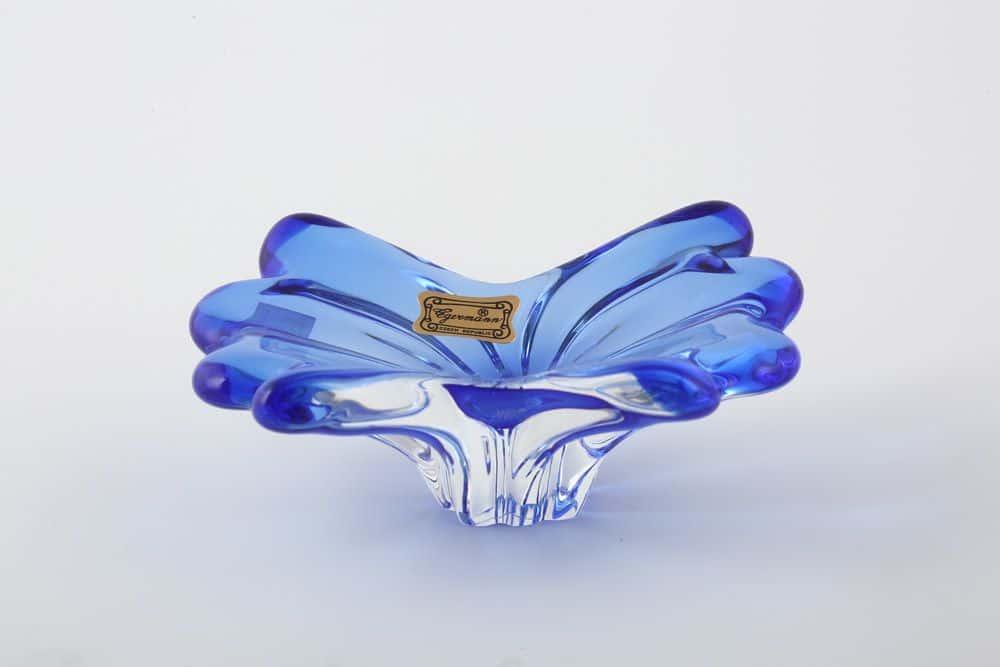 Конфетница 13 см Egermann синяя 36079