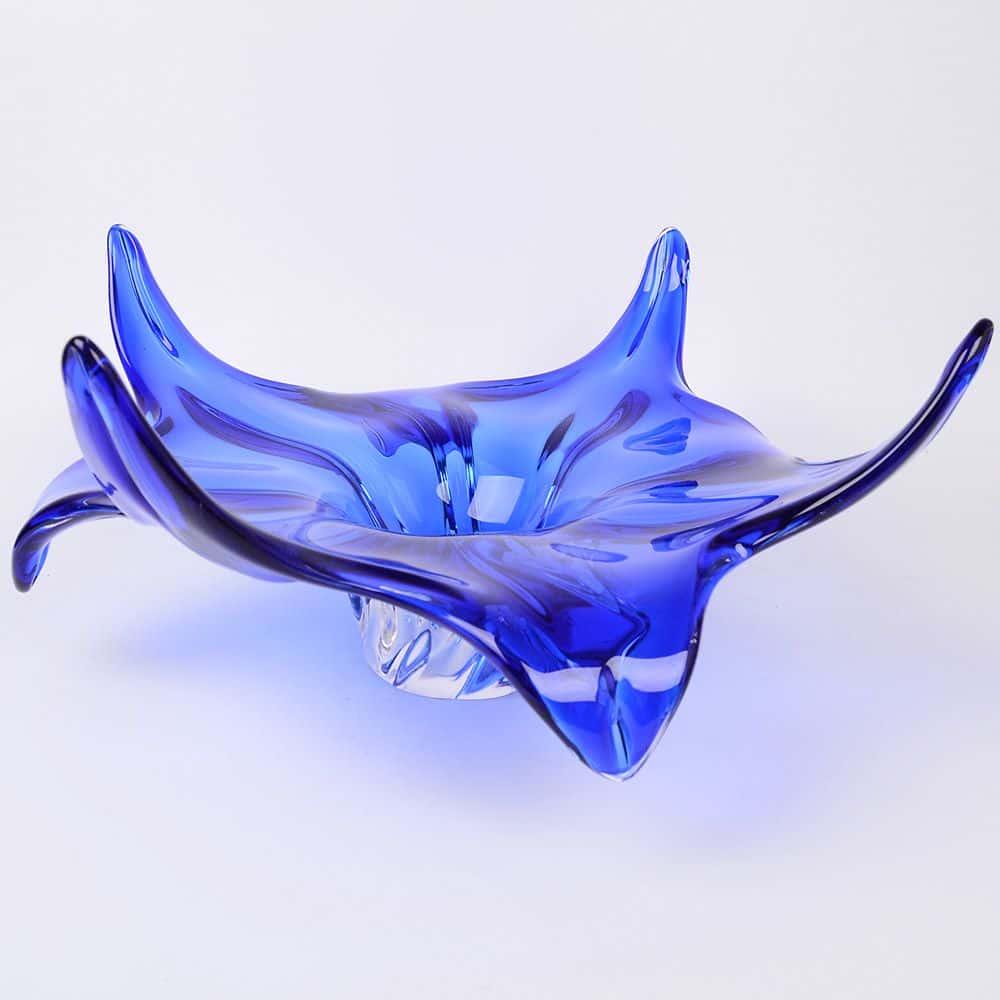 Фруктовница 45 см Egermann синяя 39757