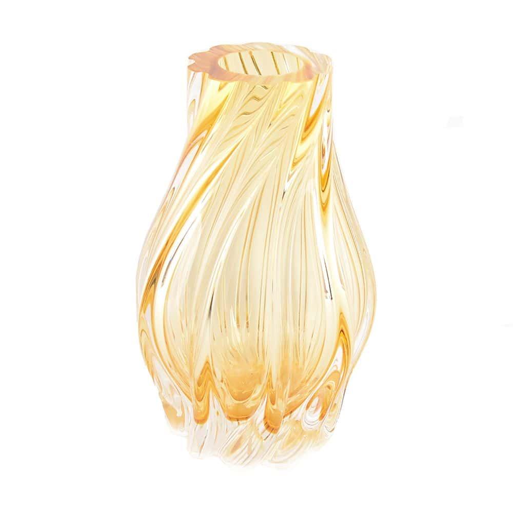 Ваза для цветов 25 см Egermann медовая 40300