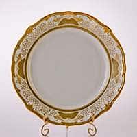 Блюдо Симфония Золотая 30 см Weimar Porzellan