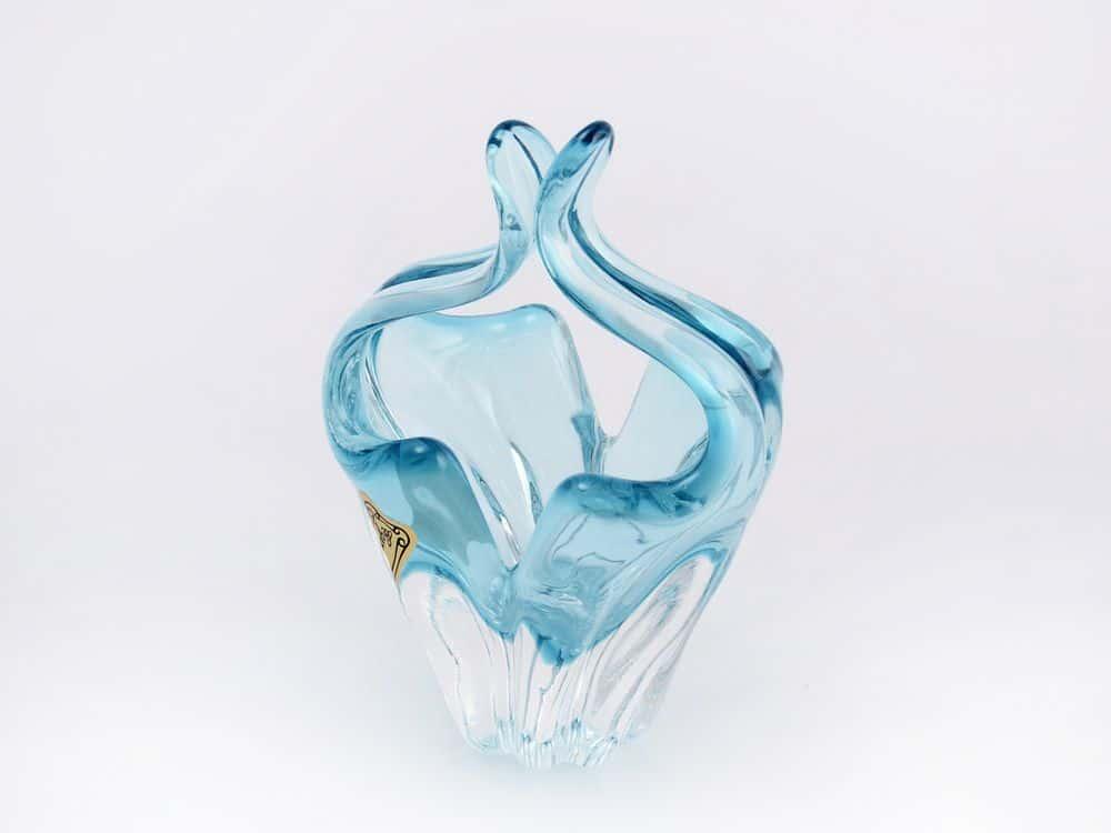 Конфетница 11 см Egermann голубая