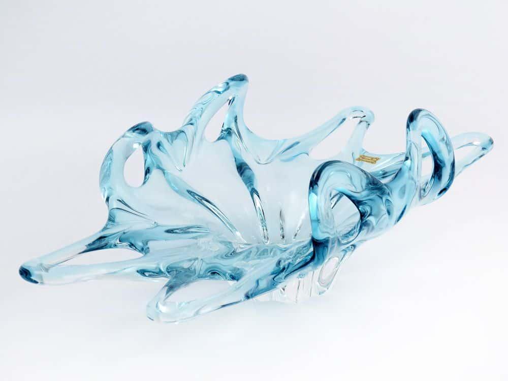 Фруктовница 45 см Egermann голубая