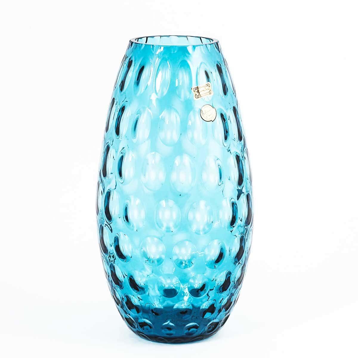 Ваза для цветов 32 см Egermann голубая 36040
