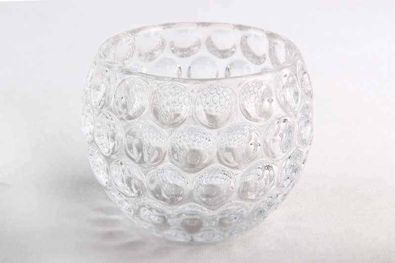 Ваза для цветов 17 см Egermann кристалл